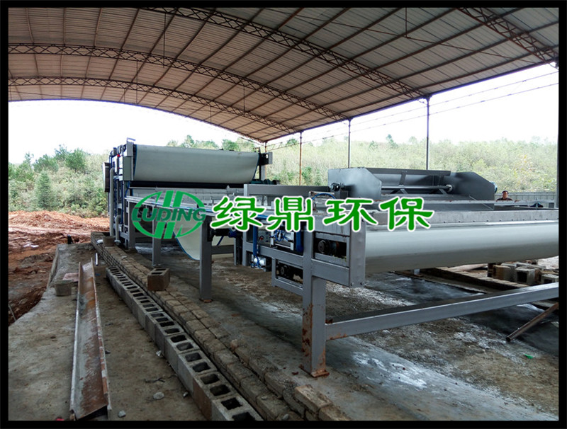 铝土矿尾矿脱水机使用案例(贵州) 3