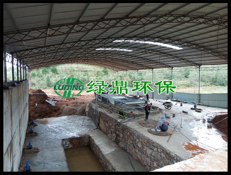 铝土矿尾矿脱水机使用案例(贵州) 2