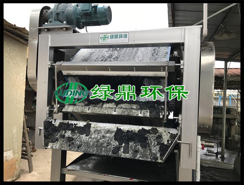 龙8手机app脱水机处理印染污泥,广州番禺水洗厂印染污泥处理项目